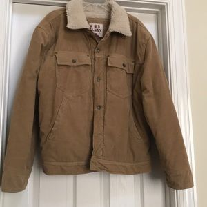 Old navy bomber jacket-XL